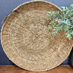 Basket - Seagrass round tray