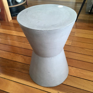 Stool - Cement hourglass