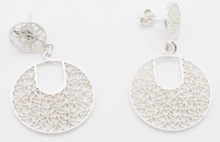 Load image into Gallery viewer, Gaviota Silver filigree studs
