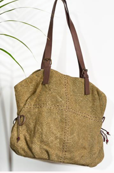 Gulliver Jam '4-Points-of-the-Compass' jute bag
