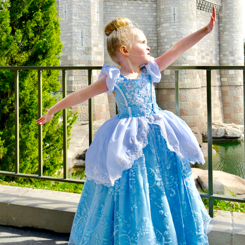 Disney inspired Cinderella dress - custom design