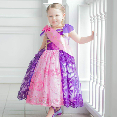 Disney Inspired Rapunzel Dress - Custom Design