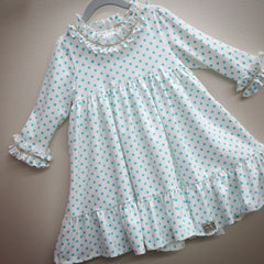 Twirly, Madly, Deeply Dress in Polka-dot