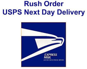 Rush Order USPS Next Day
