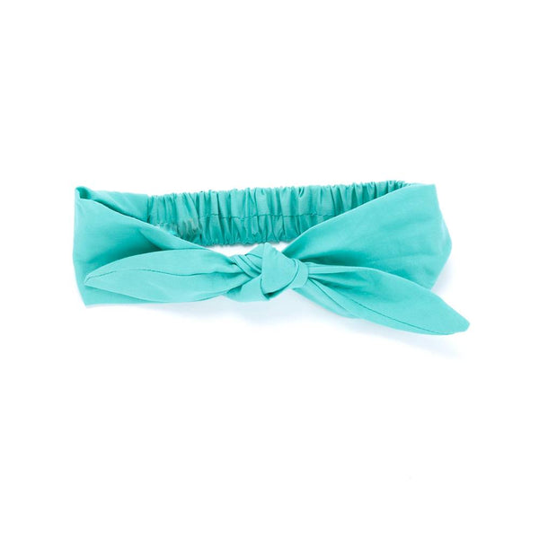 Girls Tie-Up Headwrap - Solids - See more colors!