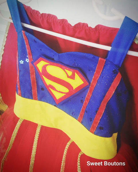 Super Hero Dress and Cape