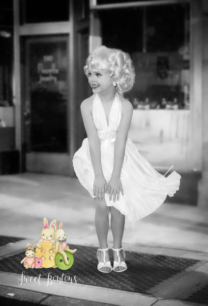Marilyn Monroe Inspired dress with matching bloomers