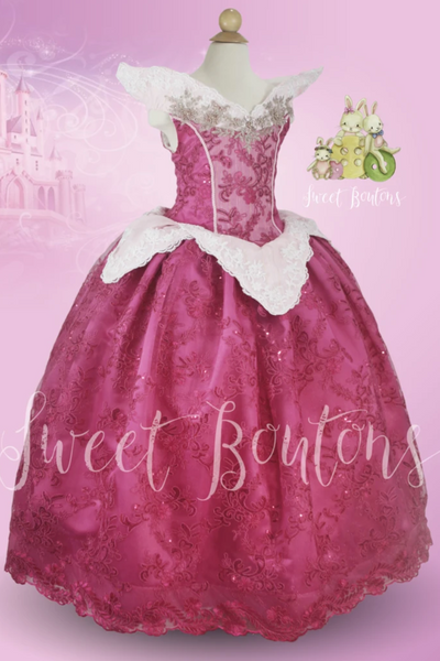 Dreamer Princess Pink Lace gown