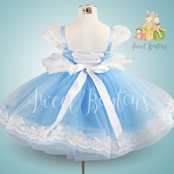 Ella Short Tutu Dress with Lace