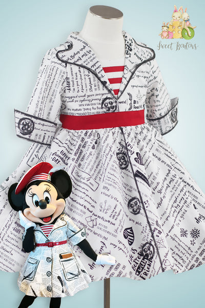 French Minnie Poem dress