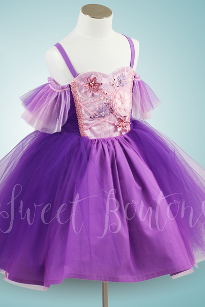 Rapunzel Short Tutu Dress