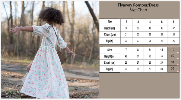Flyaway Romper with attached maxi skirt in Floral Print