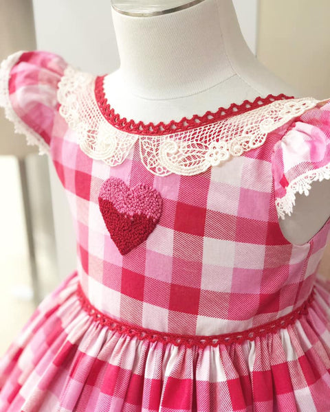 Love is in the Air... Valentine Dress