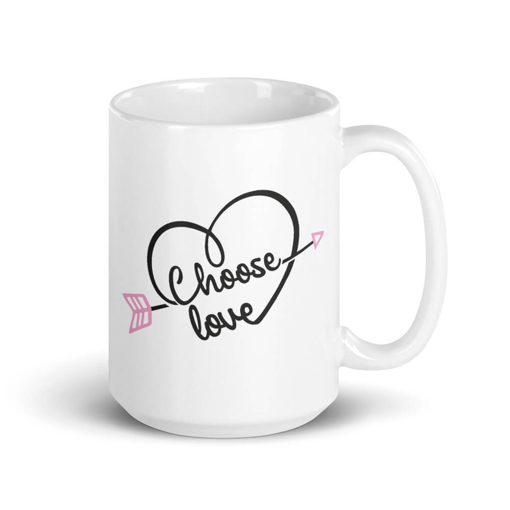 Choose Love Large Mug - Path Made Clear