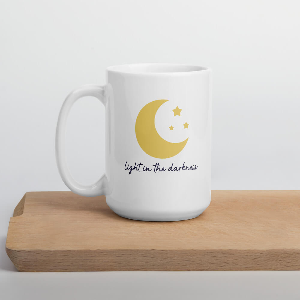 Light In the Darkness Coffee Mug - Path Made Clear