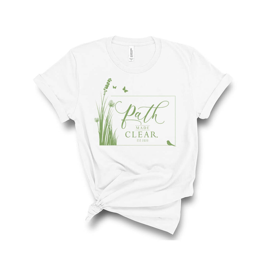 Path Made Clear Womens Tshirt White