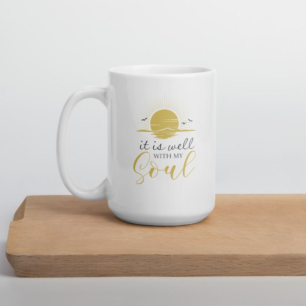 Hymn Extra Large Coffee Mug - Path Made Clear