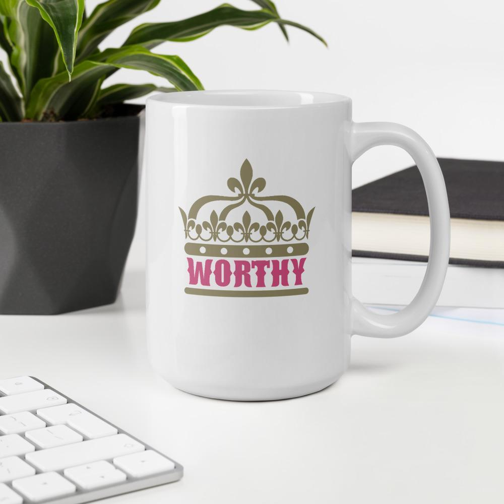 Worthy Extra Large Mug - Path Made Clear