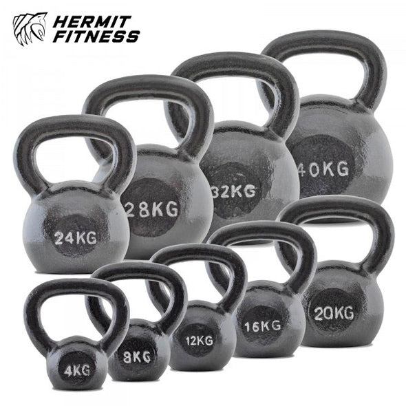 Grey Cast Iron Kettlebells *SOLD OUT*