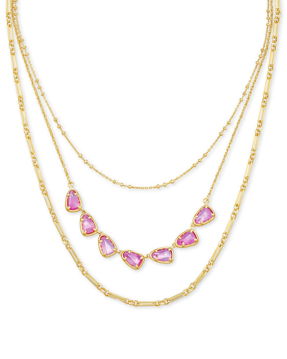 Kendra Scott Susanna Triple Strand Necklace