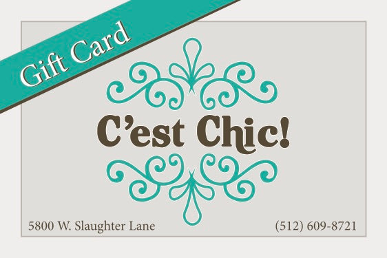C'est Chic In-Store Gift Card