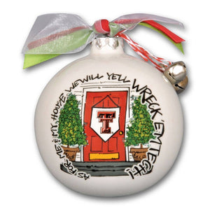 Texas Tech My House Ornament