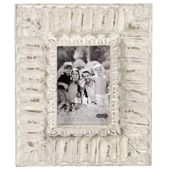 Ivory Ornate Frame