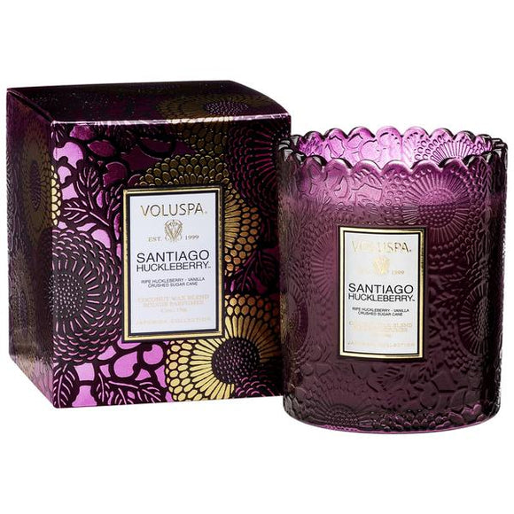Voluspa Scalloped Edge Candle