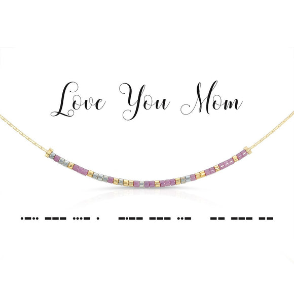 Dot & Dash Mother's Day Necklaces