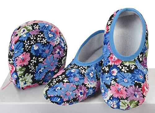 Snoozies Travel Skinnies - Cornflower