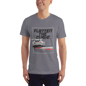 Open image in slideshow, Men's Flatten the Curve Tee