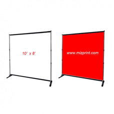 Backdrop Stands  with Custom Fabric Print