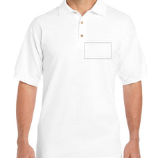 Adult Light Color Polo Shirt Custom Printing