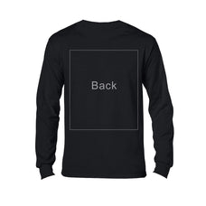 Adult Dark Color Long Sleeve Custom Printing