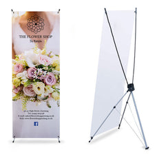 "X Display Banner-24""x63"""