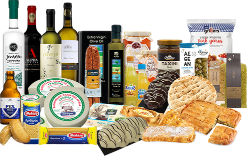 The biggest Greek Online Supermarket in the Netherlands