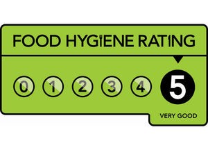 The Wissage Bakehouse has a Five star food hygiene rating