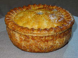 Pork Pie with Chicken