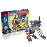 Robotic Bat King Motor Building Blocks