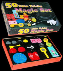 50 COIN TRICKS MAGIC SET