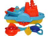 8 PIECE TUG BOAT & BEACH SET