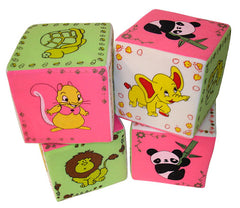 LOVELY FOAM BLOCK SET WITH ANIMALS