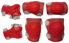 KIDS SPORTS PROTECTOR SET (SMALL RED)