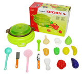 KITCHEN SET WITH FOOD