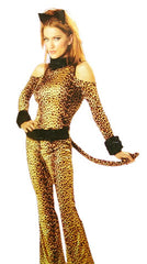 TEENS DRESS UP CLOTHING LEOPARD XS