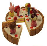 WOODEN BIRTHDAY CAKE SET