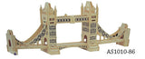WOODEN ASSEMBLY KIT LONDON TOWER BRIDGE