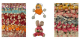 BULK PACK OF KEY CHARMS RABBITS
