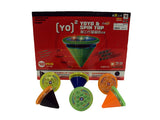 2 IN 1 YOYO & SPINNING TOY 12 PACK