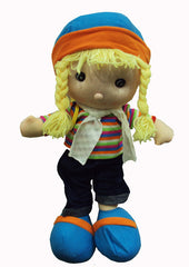 60 CM SOFT TOY CUDDLY GIRLS DOLL